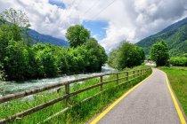 Droga rowerowa na rzeką Noce w Val di Sole