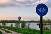 Droga rowerowa nad Odrą