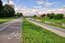 Droga rowerowa nad Wisłokiem
