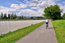 Droga rowerowa nad Wisłokiem w Rzeszowie