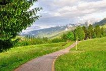 Droga rowerowa po Val di Fiemme