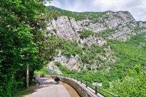 Droga rowerowa przed Torbole
