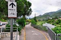 Droga rowerowa w Arco