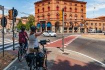 Droga rowerowa w Bolonii
