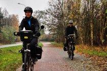 Droga rowerowa w kierunku Charzyków