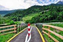 Droga rowerowa w kierunku Trydentu