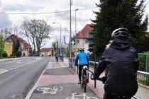 Droga rowerowa w Ornecie