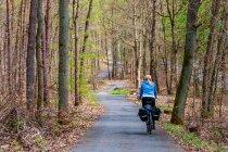 Droga rowerowa w stronę Joachimsthal