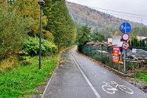 Droga rowerowa w Szczyrku