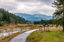 Droga rowerowa w Tatrach