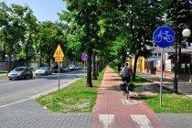 Droga rowerowa w Tomaszowie Mazowieckim