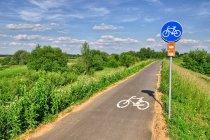 Droga rowerowa WTR przed Krakowem