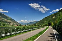 Droga rowerowa za Castelbello