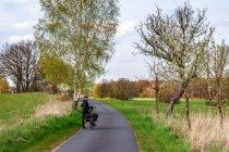 Droga rowerowa za Joachimsthal