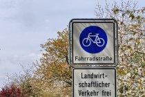 Droga rowerowa za Templinem