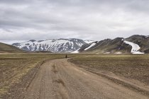 Droga w kierunku rezerwatu Fjallabak