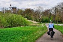 Droga w kierunku wieży w Joachimsthal