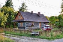 Drugie życie starego domu w Beskidzie Niskim