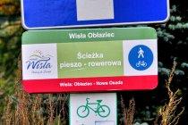 Dublujące się rowerowe oznaczenia