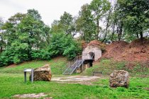 Dziedziniec fortu Brunner