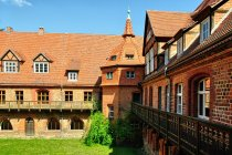 Dziedziniec klasztoru w Heiligengrabe