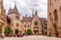Dziedziniec zamku w Marienburgu