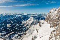 Efektowny widok na Alpy austriackie