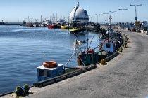 Falochron portu w Helu