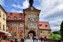 Fasada Starego Ratusza w Bambergu