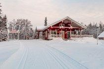 Fińska kawiarnia narciarska