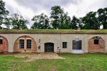Fort Łętownia - z prawej sponson