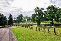 Fort VIII Łętownia widziany z szosy
