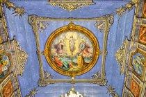 Freski na suficie cerkwi w Kwiatoniu