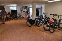 Garaż dla rowerów w hotelu w Holzminden