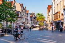Główna ulica miasta w Hameln