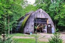 Główne wejście do bunkra w Konewce