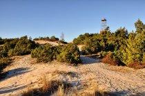 Góra Szwedów ze starą latarnią morską