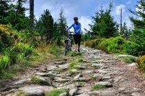 Góry Izerskie na rowerach