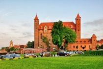 Gotycki zamek w Gniewie