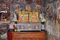 Grobowiec w cerkwi