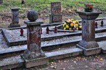 Groby II wojny światowej w Szpęgawsku