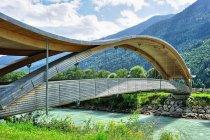 I jeszcze jeden rowerowy most w dolinie Drawy