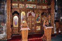 Ikonostas cerkwi w Radowcach