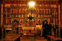 Ikonostas w cerkwi w Bereście