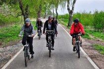 Jak na drodze rowerowej na Bornholmie
