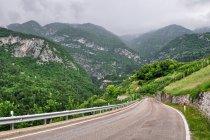 Jazda serpentynami w Val di Non