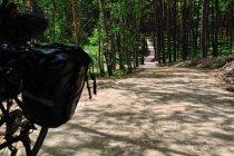 Jeden z stromych podjazdów na drodze rowerowej