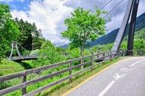 Jeszcze jeden most rowerowy - Val Rendena