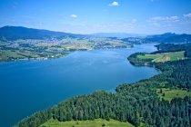 Jezioro Czorsztyńskie z góry