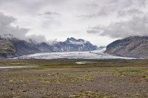 Jęzor lodowca Skaftafelljökull